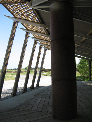 Info Pavilion, Lough Boora Sculpture Park